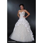 Свадебное платье Ангелина (айвори) фото
