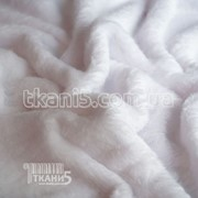 Ткань Махра (велсофт) белый 3742
