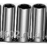Набор торцевых глубоких головок 1/2DR Maxi-drive на держателе рельс 13 предметов 11-32 мм., код товара: 49081, артикул: S05HD4113S фото