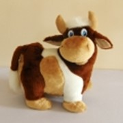 Мягкая детская игрушка Бычок Спиридон фото