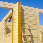 Строительство домов из клееного бруса фото
