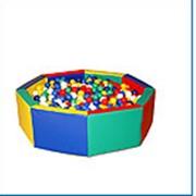Сухой бассейн восьмигранник фото