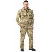 Костюм Тигр летний (куртка, брюки) (ткань смесовая) КМФ Саванна фото