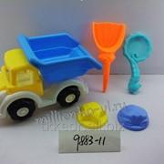 Грузовик с набором для песка, код 9883-11 фото