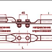 Зажим переходной петлевой ПП-68 фото