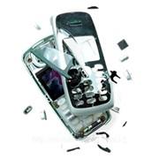 Ремонт аппаратов сотовой связи, Сотовый телефон после падения на твердую поверхность фото