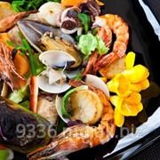 Салаты из морепродуктов в ресторане Morimoto фото