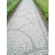 Укладка тротуарной плитки брусчатки