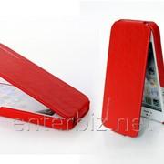 Чехол Borofone for iPhone 5/5S Lieutenant Flip Leather case Red (BI-L024R), код 47404 фото