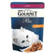 Корм для котов Gourmet Perle паучи с уткой в подливке фото