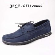 Туфли мужские Элса 0531 синий фото