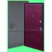 Металлическая дверь модель Эконом-4 фото