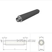Труба стальная в полиэтиленовой трубе-оболочке d=38 мм, L´=150 мм