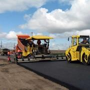 Работы по строительству автомобильных дорог фото
