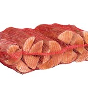 Берёзовые дрова фасованные в сетки фото
