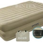 Двуспальная надувная кровать Comfort bed INTEX 67728 фото