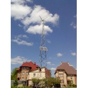 Ветроэлектрическая установка фото