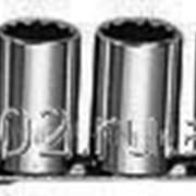 Набор торцевых 12-гранных головок 1/2DR Maxi-drive на держателе рельс 13 предметов, 10-24 мм., код товара: 49078, артикул: S05H4113S фото
