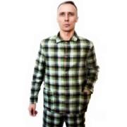 Пижама мужская фланель. фото