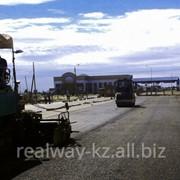 Строительство автомагистрали. фото