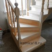 Одномаршевая деревянная лестница