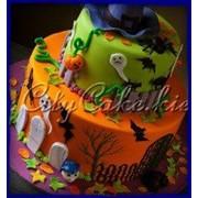 Торт на Хеллоуин №0003 код товара: 3-0003 фото