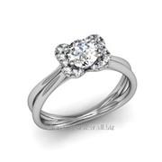 Кольца с бриллиантами D42609-1 фото
