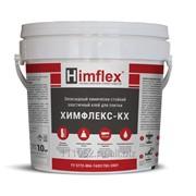 Химфлекс КХ химически стойкий клей для плитки эпоксидный, серый цвет, ведро 10 кг фото