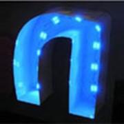 Световые буквы фото