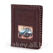 Обложка для водительского удостоверения с брелком ГАЗ, 065-07-54М фото