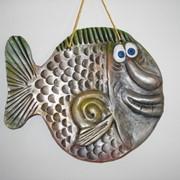 Панно Рыба малое фото