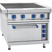 Плита электрическая 4-х конфорочная ЭП-4ЖШ-Э эмалированная духовка 1050x897x860 мм фото