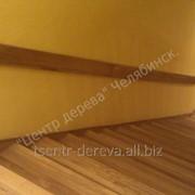 Лестница из натурального дерева - цвет бежевый фото