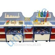 Дидактический стол с пуфиками м-204