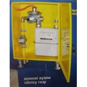 Шкаф монтажный под узел учета газа (ВОГ) вертикальный фото