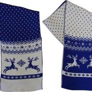 Изготовим шарфы с логотипом Вашей фирмы фото