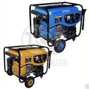 Генератор бензиновый 5кВт синхронный TOR (COP) 220В, бак 25л, эл. стартер фото