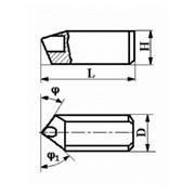 Вставки цилиндрические с режущим элементом из АСПК («Карбонадо») и Композита-01 (Эльбора-Р) ИС-200 фото