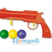 Пистолет пластмассовый с шариками фото