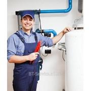 Установка электрического накопительного водонагревателя фото