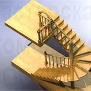 Деревянные лестницы экспорт Украина фото