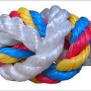 Канаты, веревки, шнуры, шпагаты - полипропиленовые фото