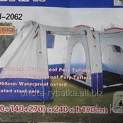 Палатка с тамбуром двухслойная ТН-2062 фото