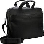 Конференц - сумка 410х290х70 черный фото