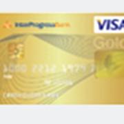 Услуги по обслуживанию платежных карт Visa Gold фото