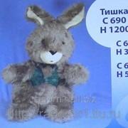 Мягкая игрушка Заяц Тишка-1 С630 фото