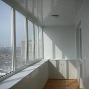 Мойка балконных окон фото