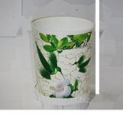 Горшок для цветов из пластика Колибри фото