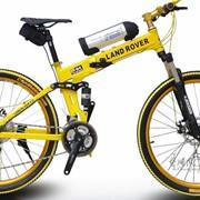 Электро - велосипед Land Rover фото