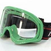 Очки кроссовые Зеленые MICHIRU G990 Детские фото